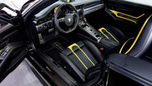 Интерьер Porsche 911 Turbo Cabriolet от TechArt