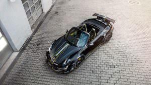 Крутой родстер Porsche 911 Turbo Cabriolet от TechArt