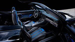 Салон Porsche 911 Turbo Cabriolet от TechArt