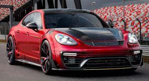 Тюнинг Porsche Panamera от Mansory