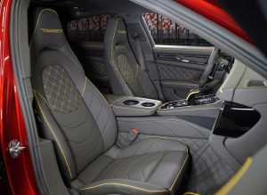 Салон Porsche Panamera от Mansory