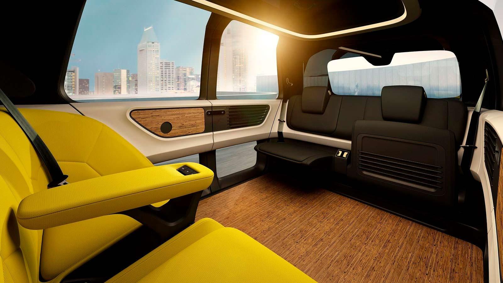 Volkswagen Sedric: салон без руля и педалей