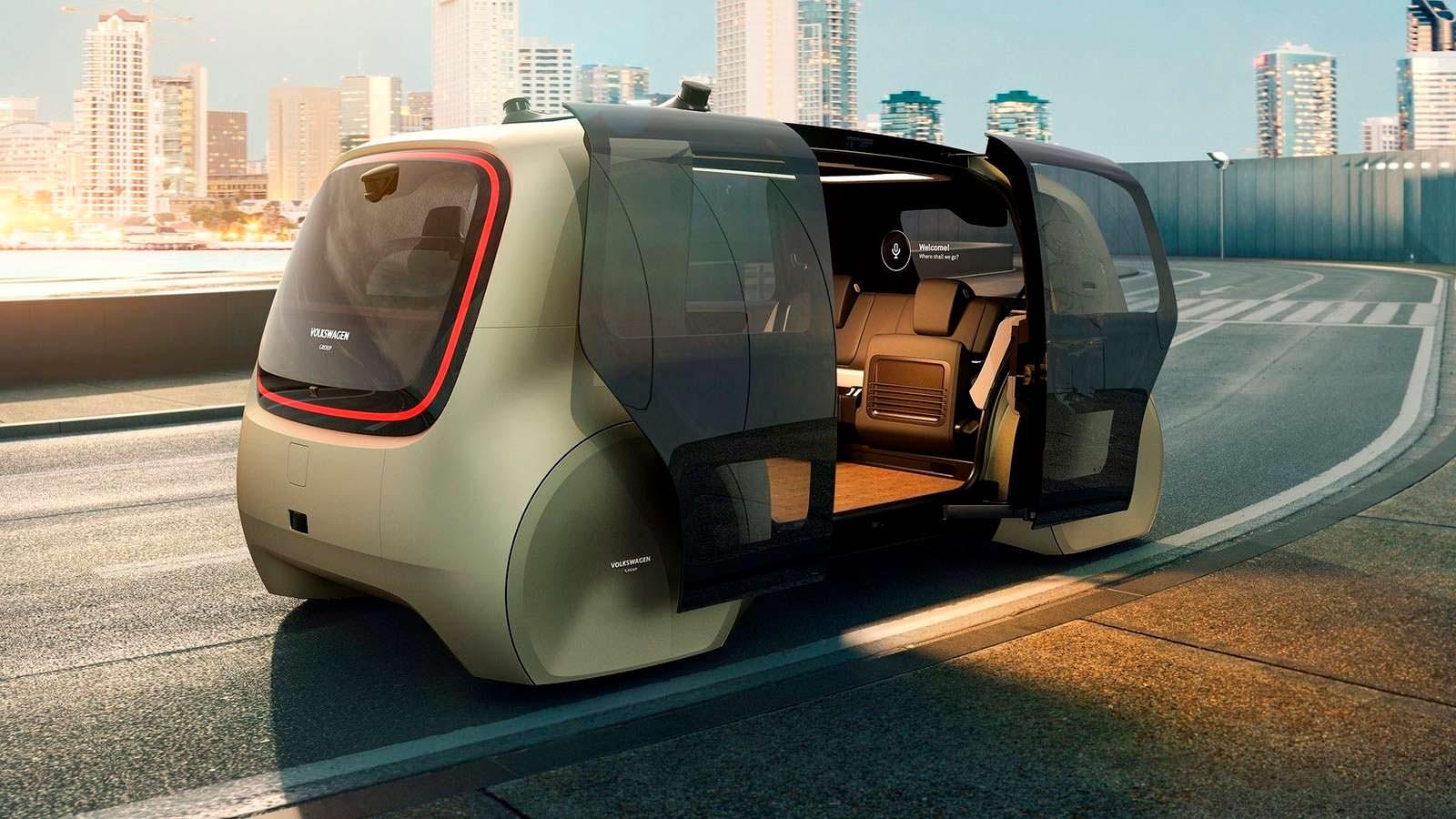 Концепт VW Sedric: на 100% автопилотируемый