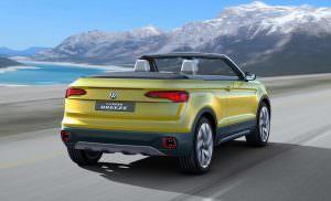Концепт Volkswagen T-Cross Breeze 2016 года