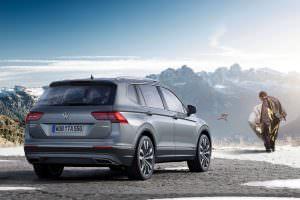 Семиместный Volkswagen Tiguan Allspace