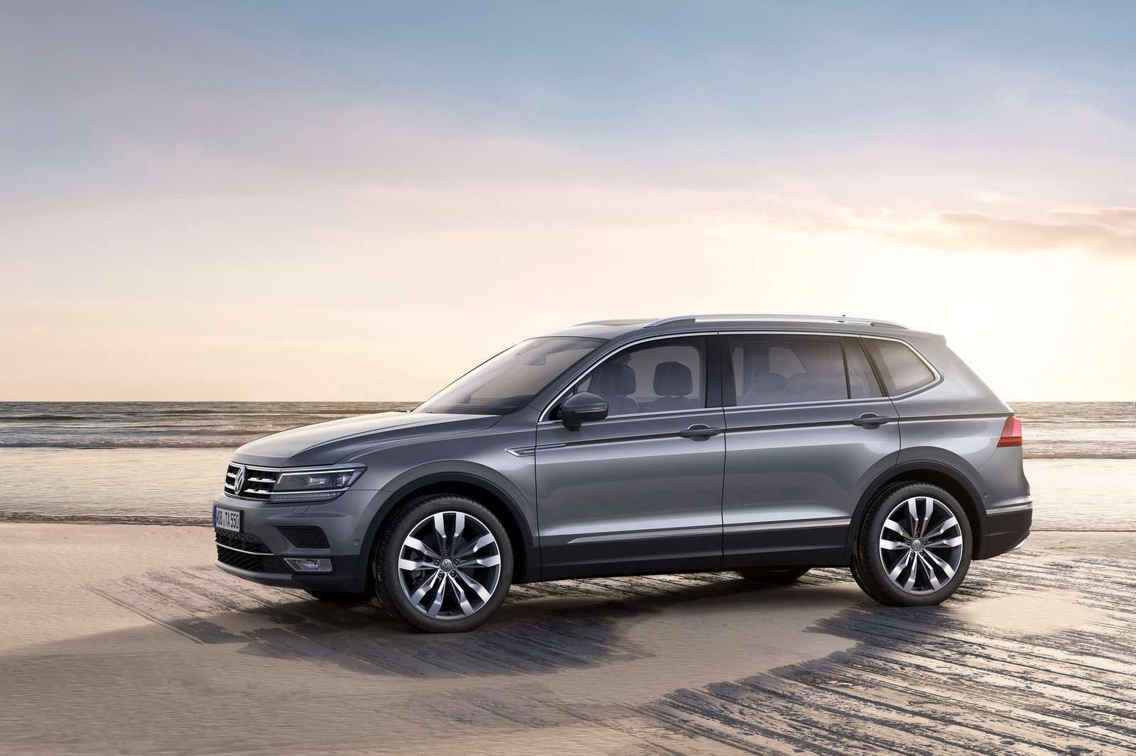 Новый VW Tiguan Allspace
