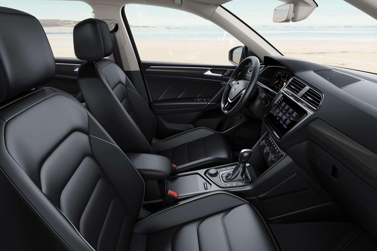 Интерьер Volkswagen Tiguan Allspace