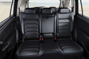 Второй ряд кресел Volkswagen Tiguan Allspace