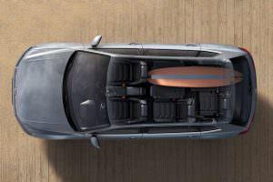 Конфигурации салона VW Tiguan Allspace