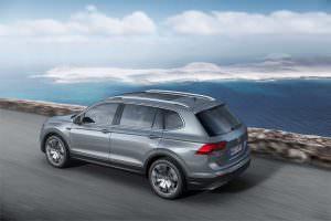 Семиместный Volkswagen Tiguan Allspace для Европы