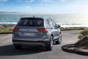 Volkswagen Tiguan Allspace с удлиненной колесной базой