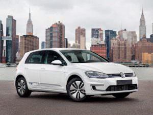 Фото | Электромобиль Volkswagen e-Golf 2018 для США