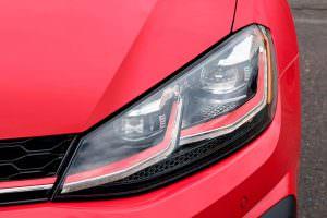 Фото | Светодиодные фары Volkswagen Golf GTI 2018 года
