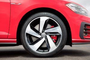 Фото | Колеса Volkswagen Golf GTI 2018 года для США
