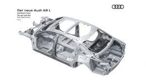 Кузов Audi A8 четвертого поколения