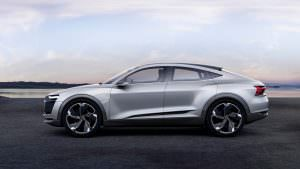 Фото | Купеобразный кроссовер Audi E-Tron Sportback Concept