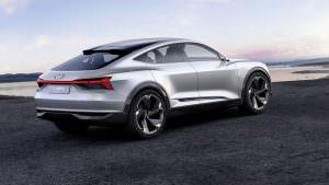 Фото | Электрический кроссовер Audi E-Tron Sportback Concept