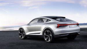 Фото | Электрический прототип Audi E-Tron Sportback Concept