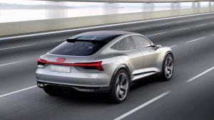 Кроссовер Audi E-Tron Sportback Concept 2017 года