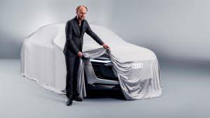 Марк Лихте и Audi E-Tron Sportback Concept