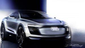 Дизайн Audi E-Tron Sportback Concept