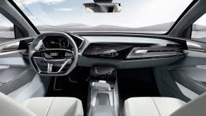 Фото салона Audi E-Tron Sportback Concept 2017