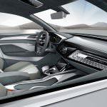 Фото   Интерьер Audi E-Tron Sportback Concept 2017