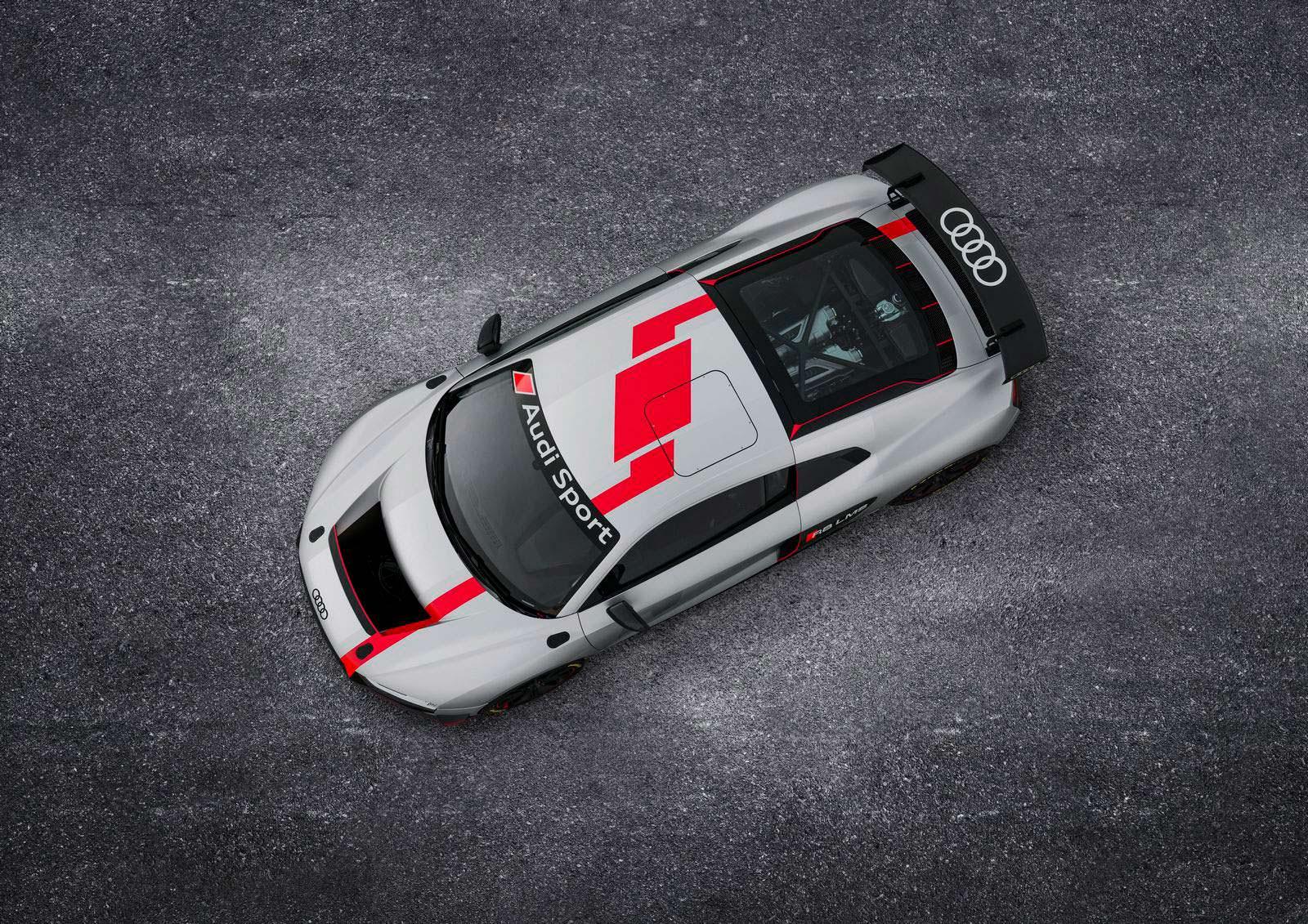 Фото   Гоночный суперкар Audi R8 LMS GT4