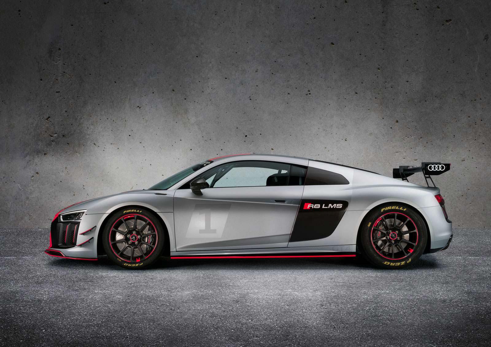 Фото   Audi R8 LMS GT4: суперкар категории GT4