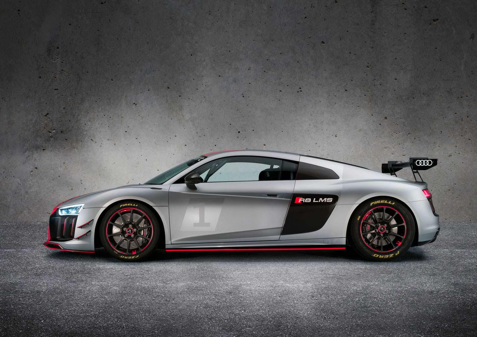 Фото   Audi R8 LMS GT4 для гоночной серии GT4