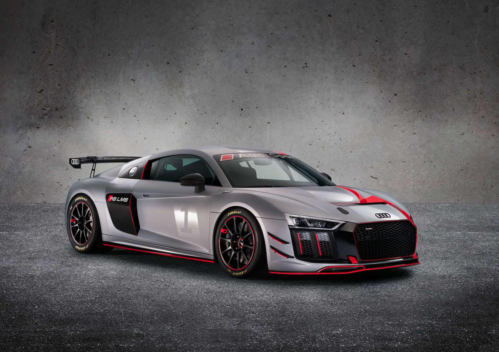 Ауди представила особый спорткар R8 LMS GT4