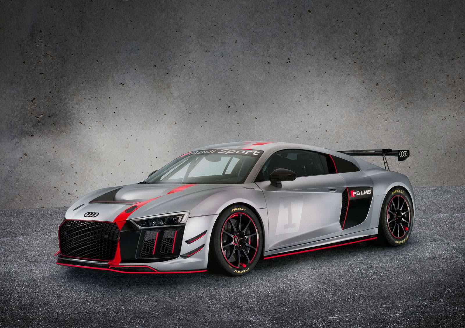 Фото   Audi R8 LMS: суперкар для гонок в категории GT4