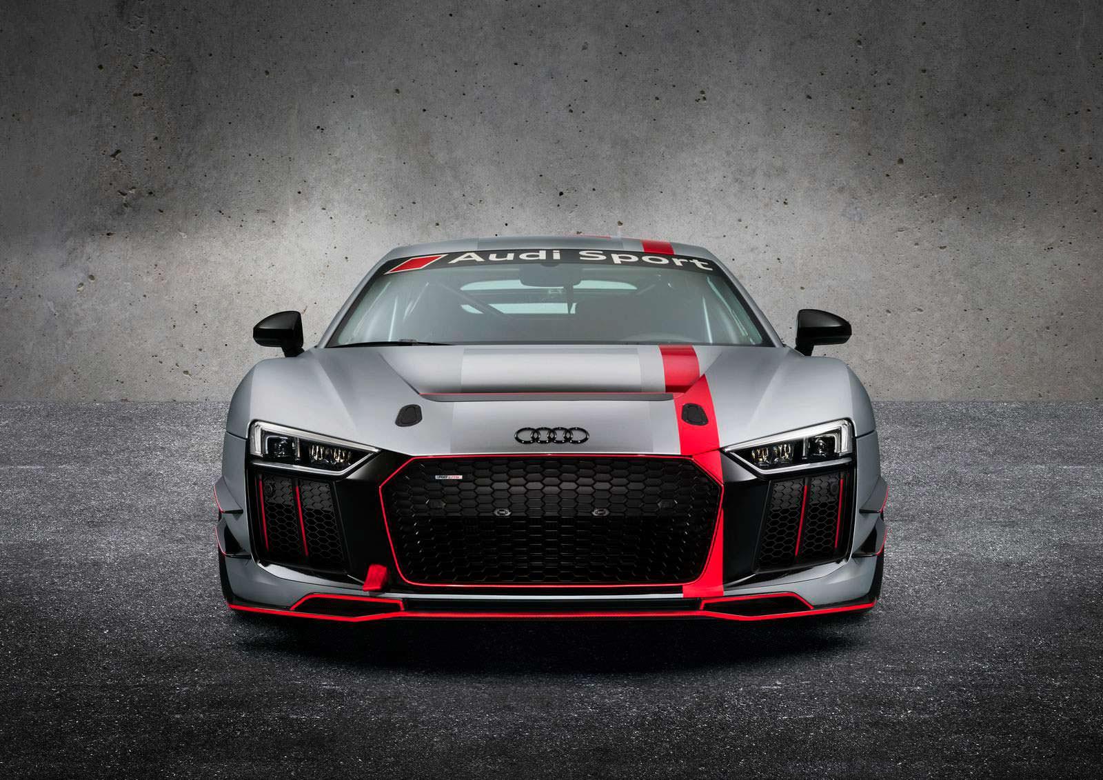 Фото   Новый гоночный суперкар Audi R8 LMS GT4