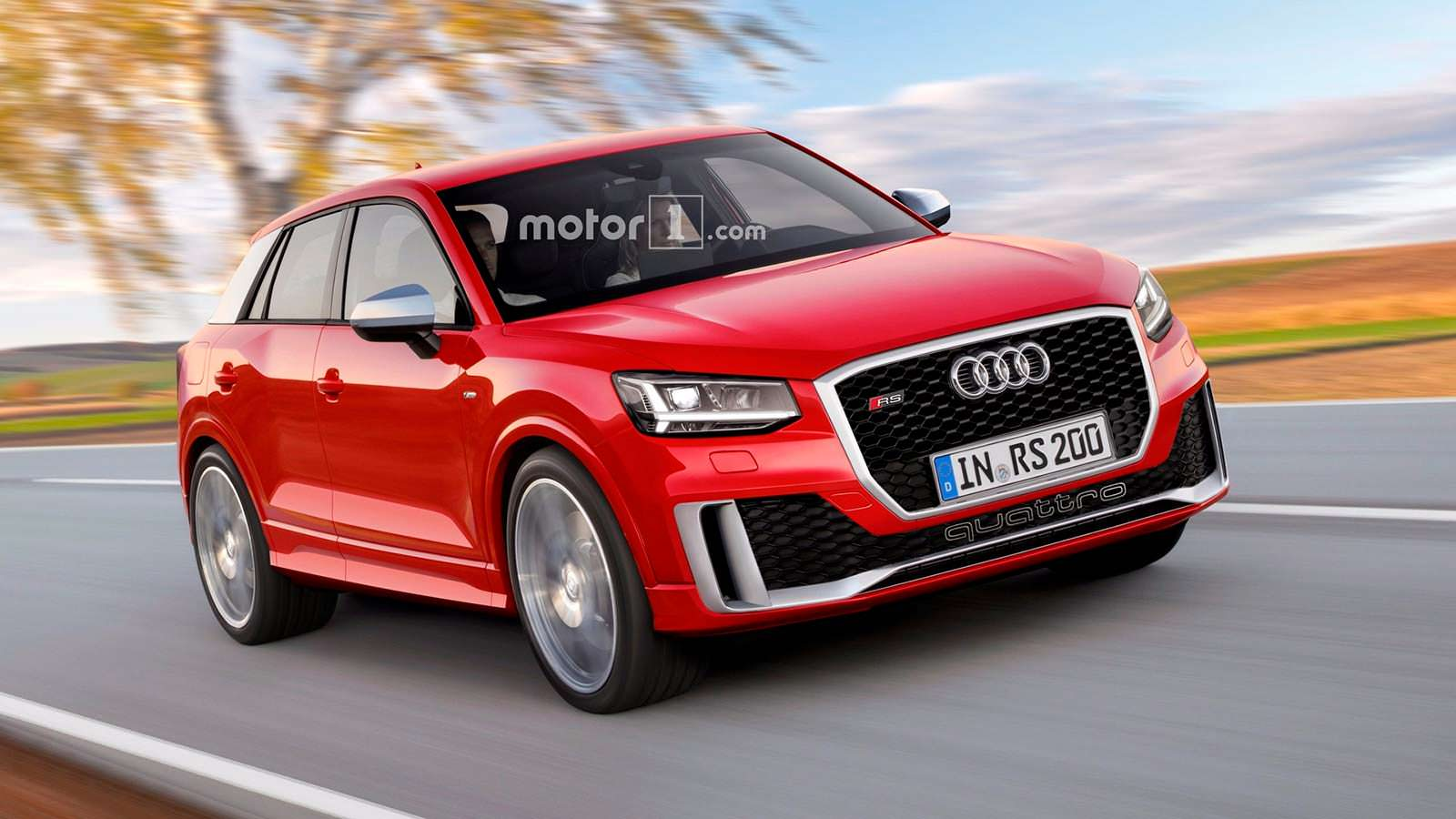 Фото | Audi RS Q2, неофициально от motor1.com