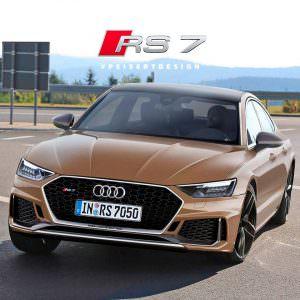 Фото   Новая Audi RS7, неофициально от PeisertDesign