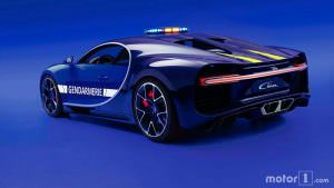 Bugatti Chiron: самый быстрый полицейский автомобиль