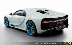 Фото | Bugatti Chiron, вид сзади