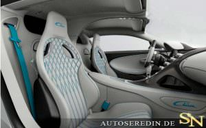 Фото | Салон Bugatti Chiron