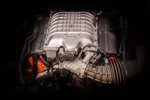 Фото | Двигатель 6.2 л V8 в Jeep Grand Cherokee Trackhawk