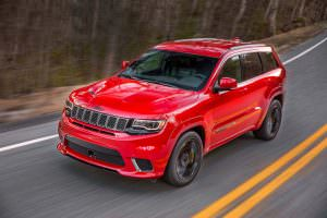 Фото | Новый Jeep Grand Cherokee Trackhawk 2018