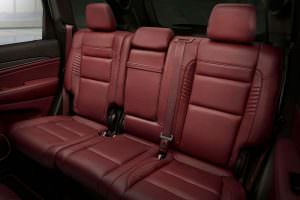 Фото | Кожаные сиденья Jeep Grand Cherokee Trackhawk