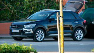 Шпионские фото Volkswagen T-Roc без камуфляжа