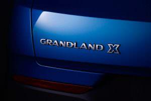 Надпись Grandland X
