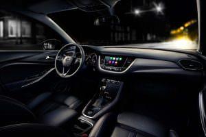 Фото салона Opel Grandland X 2018