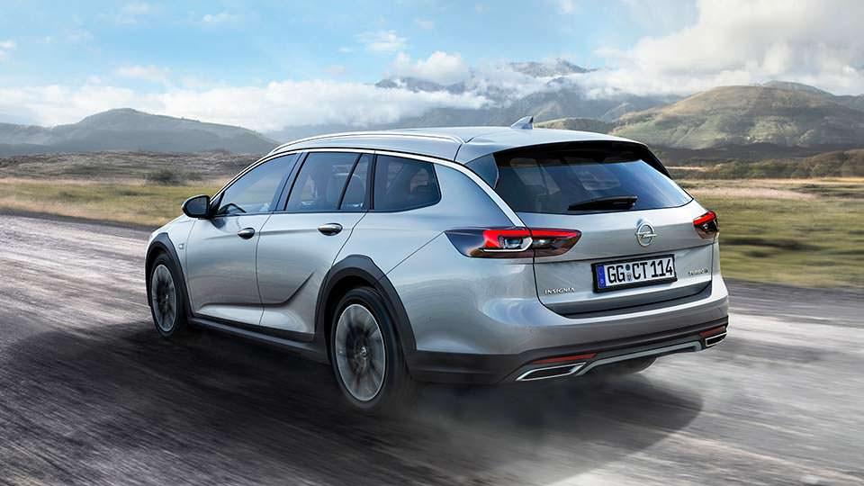 Фото | Внедорожный универсал Opel Insignia Country Tourer 2017