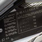 Номер кузова Porsche 911 RSR 3.8 1993 года