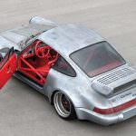 Фото | Грязная Порше 911 РСР 1993 года с красным салоном