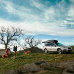 Фото | Subaru Outback с багажником на крыше