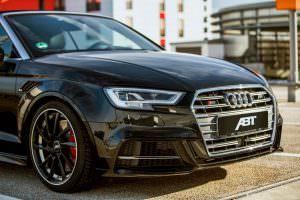 Фото | Ауди S3 Cabrio на черных дисках от ABT