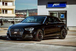 Ауди S3 Cabrio на черных дисках от ABT